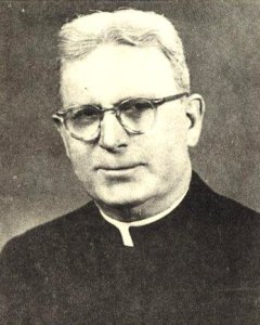 Father Michael Mulvoy, Saint Francis chaplain 1940-1973.